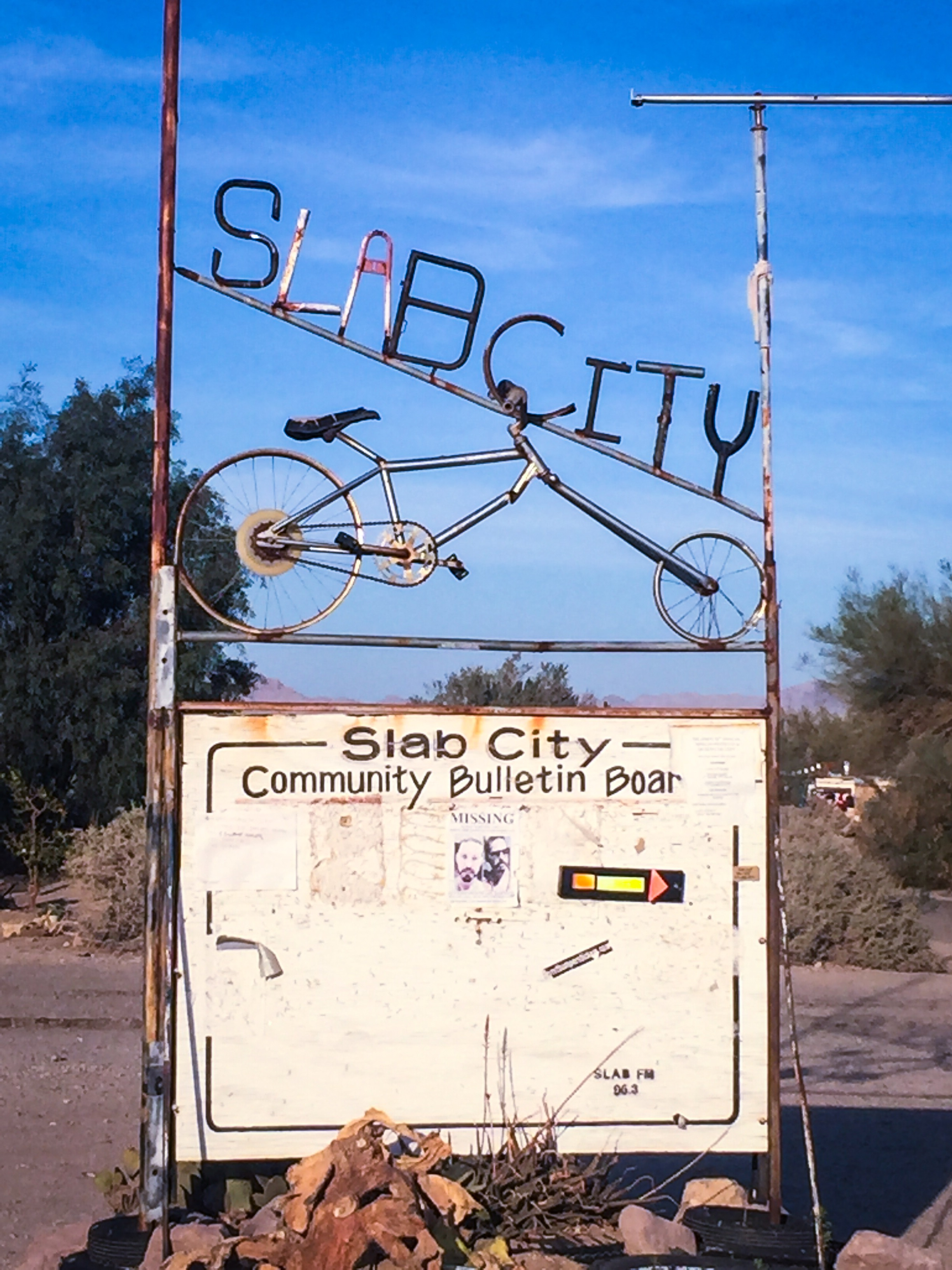 Slab City In CA An RV And Squatter Community Niland