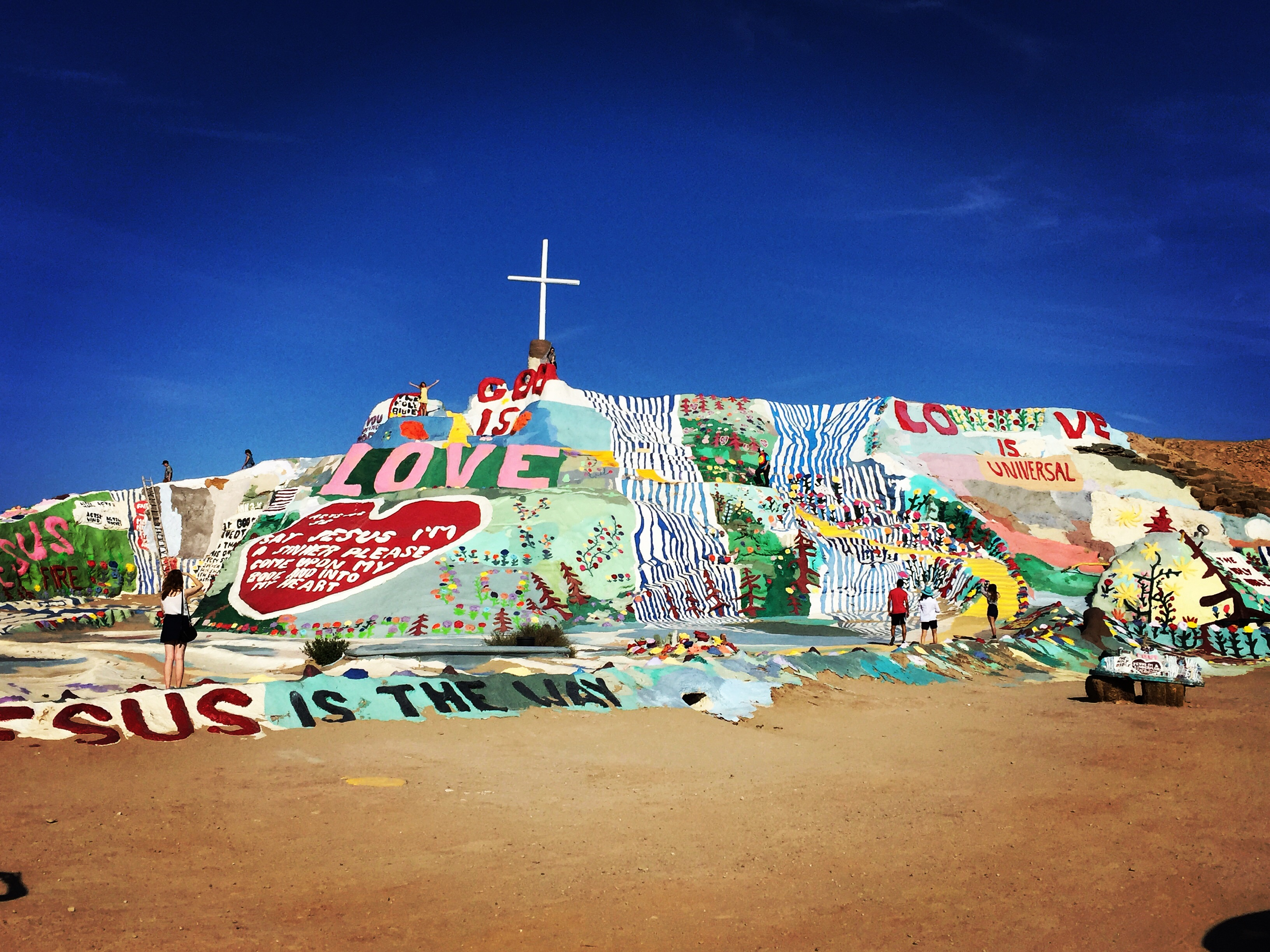Salvation Mountain Niland CA